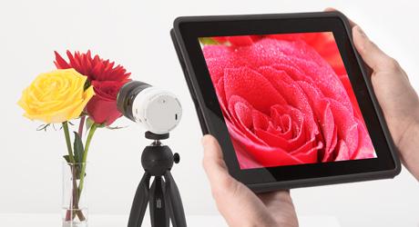 タブレットデバイスを使ってさらに広がる写真表現