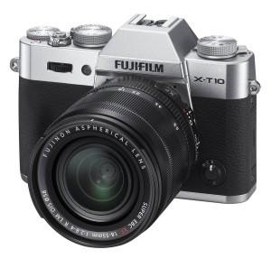 FUJIFILM デジタルカメラミラーレス一眼 X-T10レンズキット シルバー